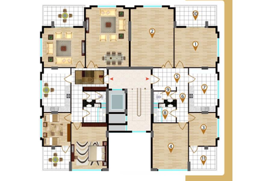 NOVVA +PLUS Kat Planları